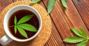 how to make weed tea